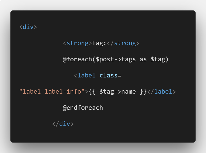 Laravel Tag System Tutorial With Example