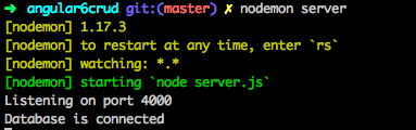 node mongodb connect