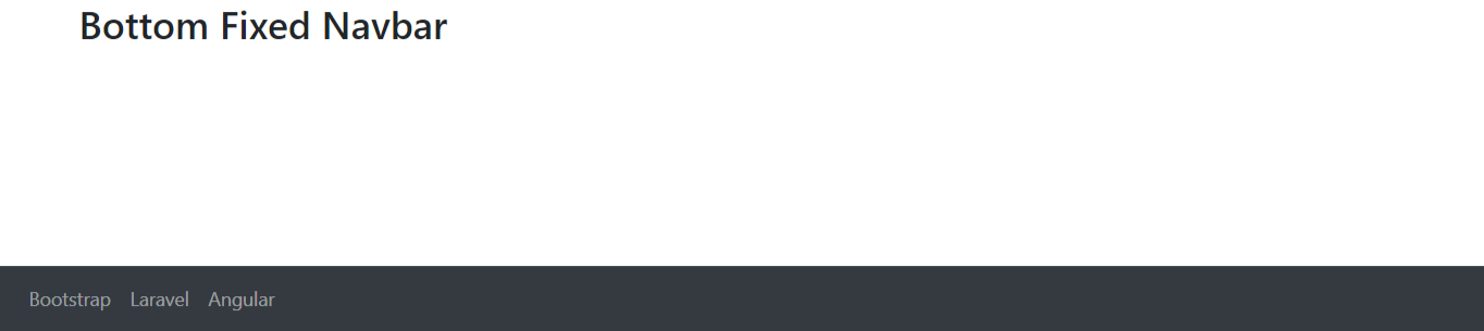 Bootstrap 4 Navbar Tutorial With Example