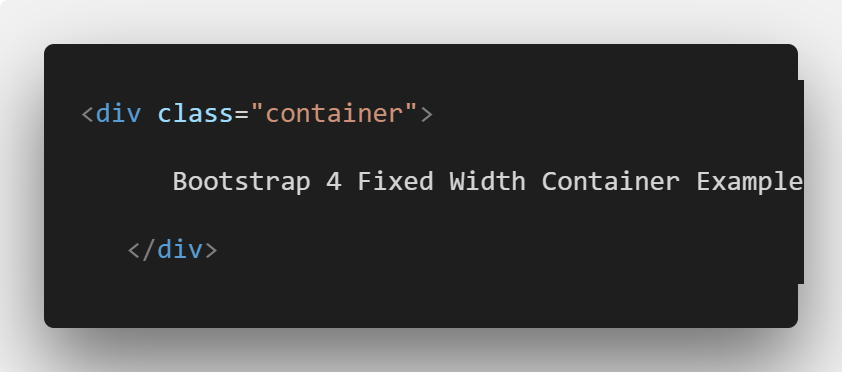Bootstrap 4 Containers Tutorial With Example