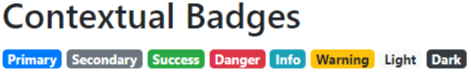 bootstrap 4 badges tutorial