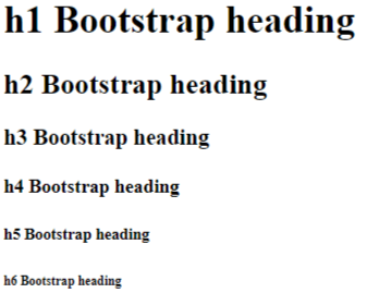 bootstrap 4 typography example